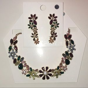 Forever 21 Necklace and Earring Set
